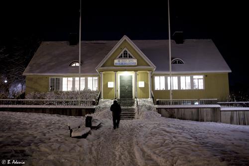Nordengården i vinterskrud