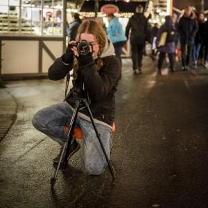 Även FLUF var representerade. Boel fotograferade en fotograf.