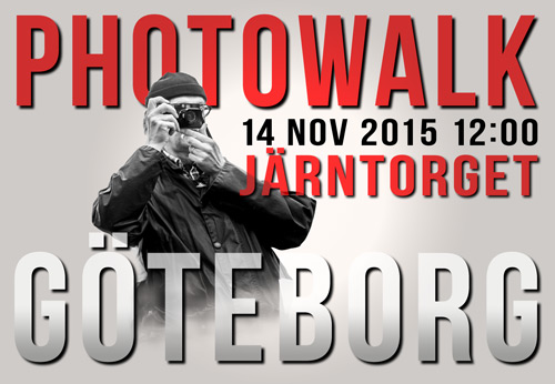 Photowalk Göteborg 14 nov 2015